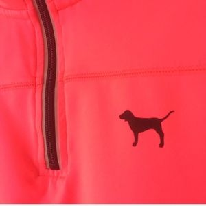 PINK Victoria's Secret Tops - Pink Victoria's Secret Ultimate Half Zip Pullover